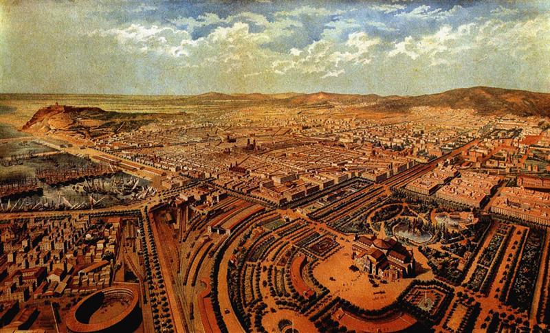 Cerdà y Barcelona la primera metrópoli, 1853-1897